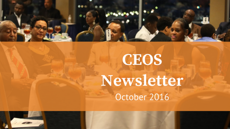 CEOS Newsletter October 2016