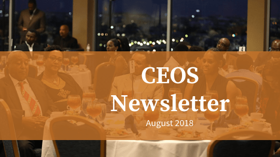 CEOS Newsletter August 2018