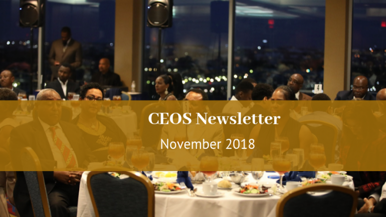 CEOS Newsletter November 2018
